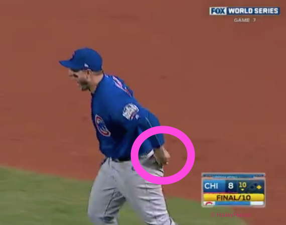 Hey, Cubs' Anthony RIzzo, whatcha doing that winning ball?