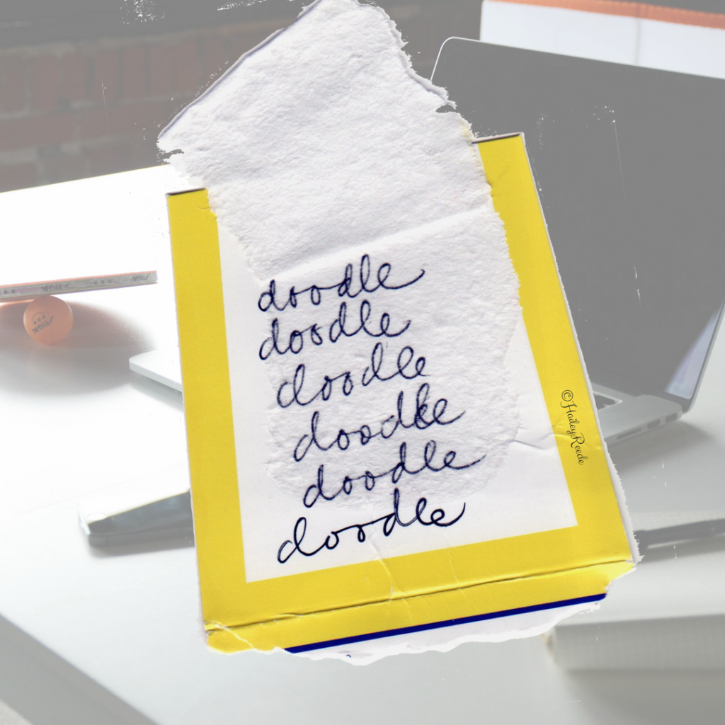 Do you doodle when you should be writing?