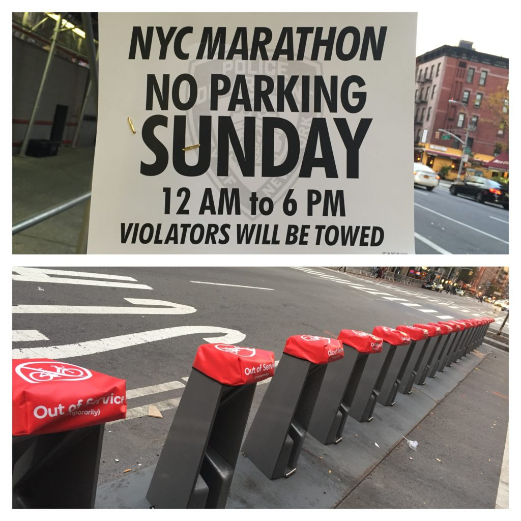 Preparations for the NYC Marathon 2016 ©HaileyReede