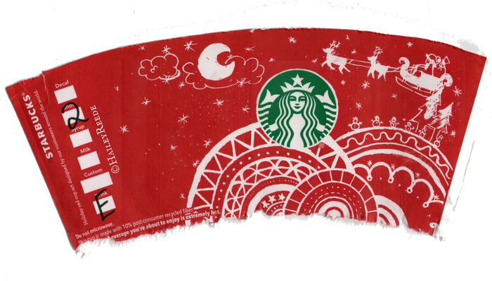 Collecting Starbucks' Holiday 2016 Cups is Like Pokémon GO for Grown Ups. ©HaileyReede